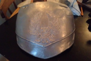 breastplate painted