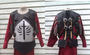 Breastplate finished small